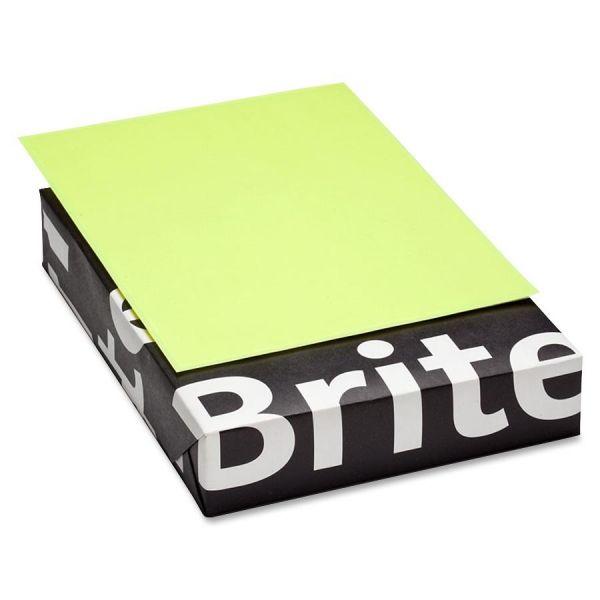 Mohawk Brite-Hue Colored Paper - Ultra Lemon
