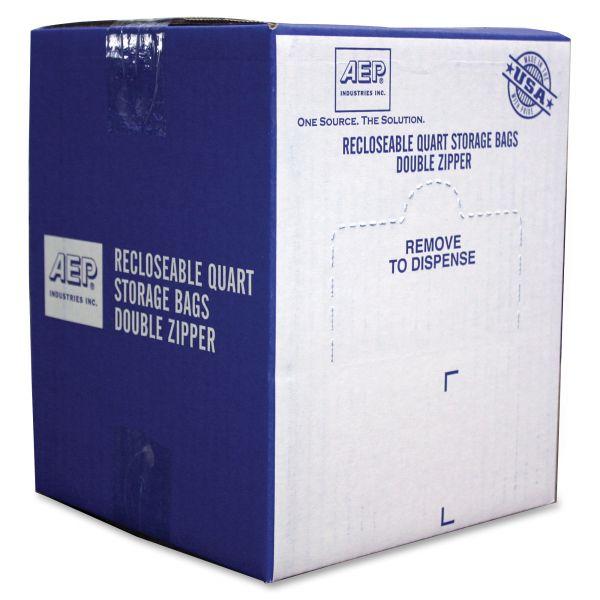 Webster Zipper Quart Size Storage Bags