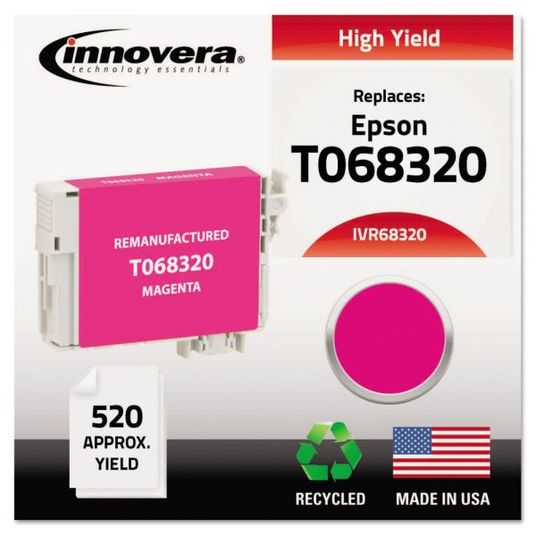Innovera Remanufactured Epson T068320 High-Yield Ink Cartridge