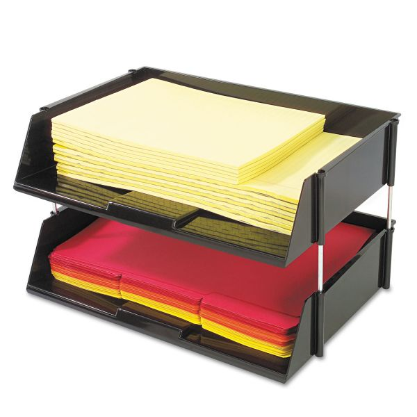 deflecto Heavy-Duty Side-Loading Letter Tray