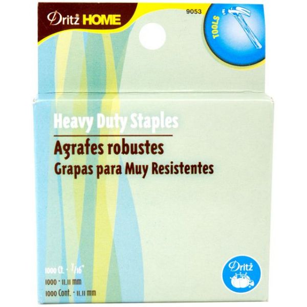 Heavy-Duty Staple Gun Refills 7/16""