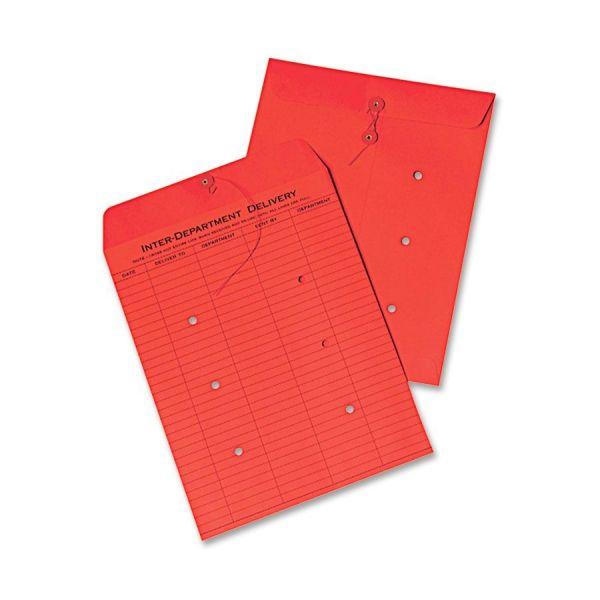 Quality Park Standard Inter-Dept.Colored Envelopes