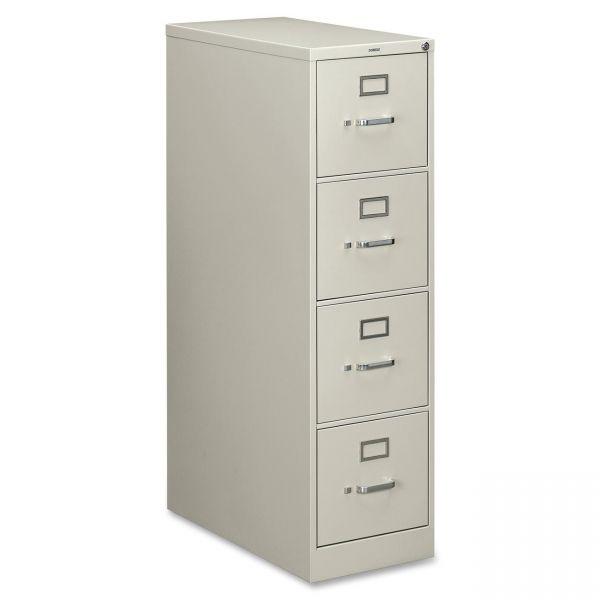 HON 210 Series 4 Drawer Locking Vertical File Cabinet