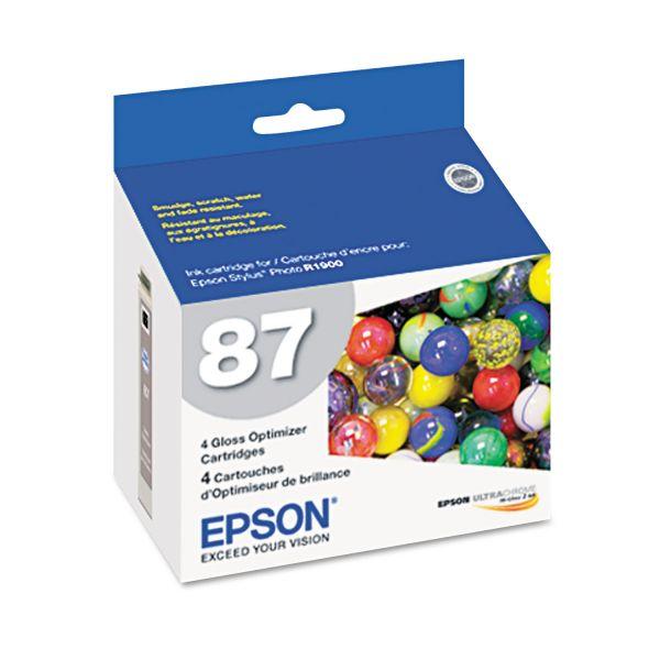 Epson 87 Gloss Optimizer Cartridges