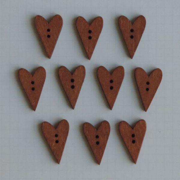 Wooden Buttons 10/Pkg