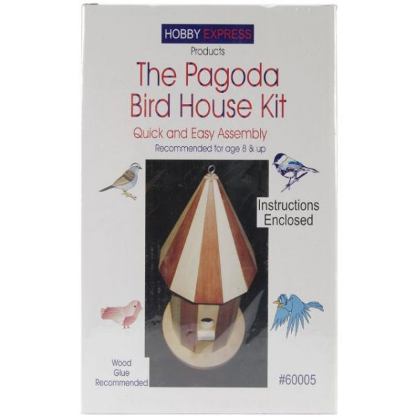 Hobby Express Pagoda Bird House Kit
