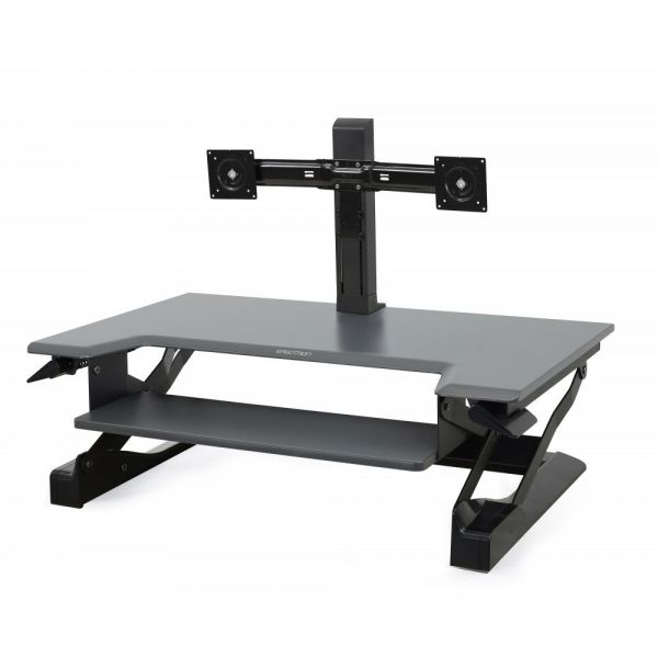 Ergotron WorkFit Dual Monitor Kit