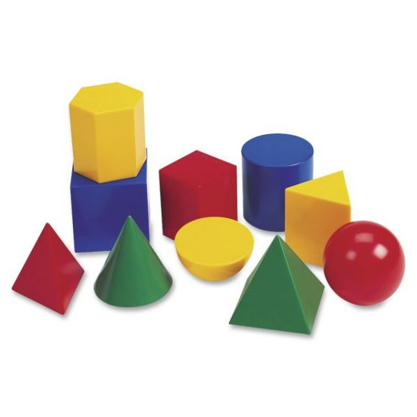 "Learning Resources Large 3"" Geometric Shapes Set"