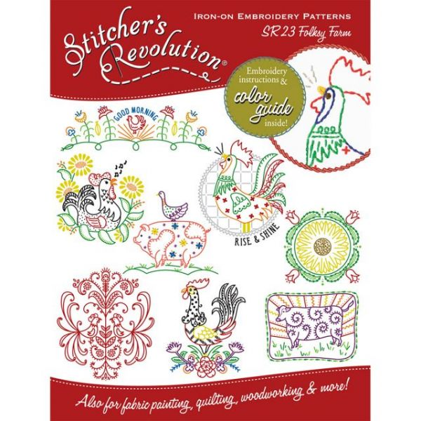Stitcher's Revolution Iron-On Transfers