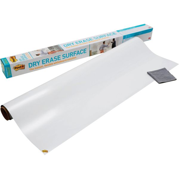 Post-it 3' x 2' Dry Erase Surface with Adhesive Backing
