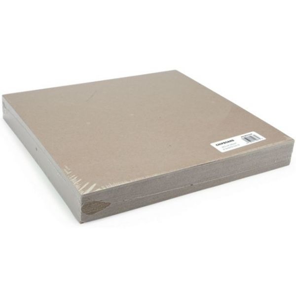 "Medium Weight Chipboard Sheets 12""X12"" 25/Pkg"