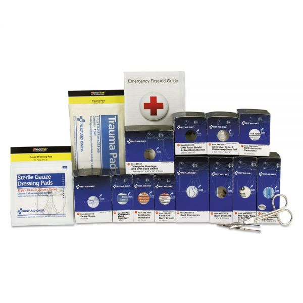 First Aid Only Medium Metal SmartCompliance Food Service Refill Pack, 94 Pieces