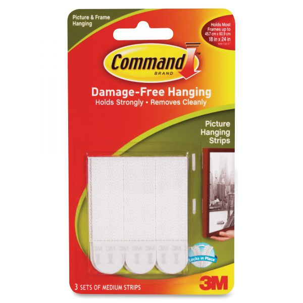 Command Medium Picture Hanging Strips