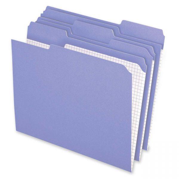 Pendaflex Lavender Colored File Folders