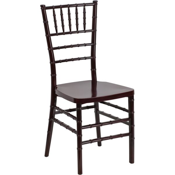 Flash Furniture Mahogany Chiavari Chair