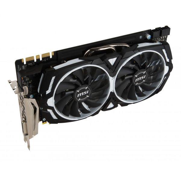 MSI GTX 1080 ARMOR 8G OC GeForce GTX 1080 Graphic Card - 1.66 GHz Core - 1.80 GHz Boost Clock - 8 GB GDDR5X - PCI Express 3.0 x16