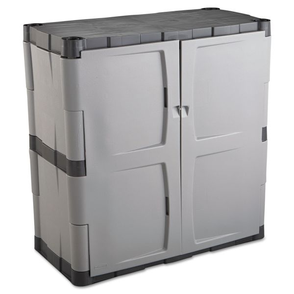 Rubbermaid Double-Door Storage Base Cabinet