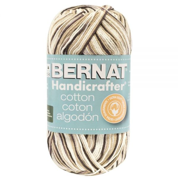 Bernat Handicrafter Cotton Yarn (340 Grams)