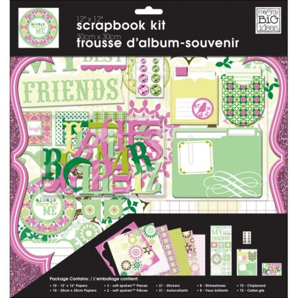 Me & My BIG Ideas My Friends Scrapbook Kit