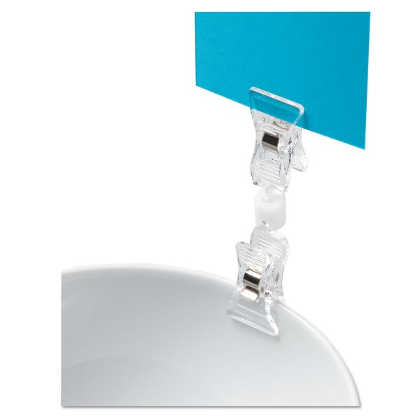 Deflect-o VersaGrip Double Clip Sign Holders