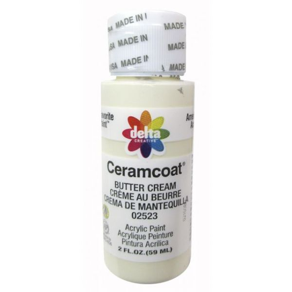 Ceramcoat Butter Cream Acrylic Paint