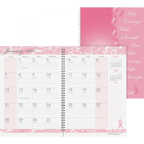 House of Doolittle Breast Cancer Awareness Monthly Planner