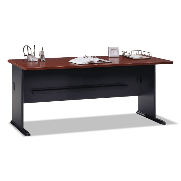 "bbf Series A Advantage 72"" Desk by Bush Furniture"