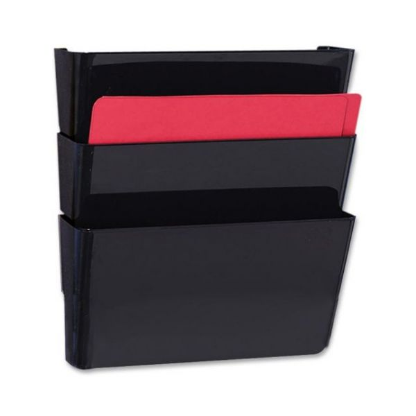 Sparco Stak-A-File Vertical Wall File Pockets