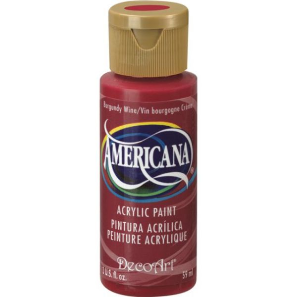 Deco Art Burgundy Wine Americana Acrylic Paint
