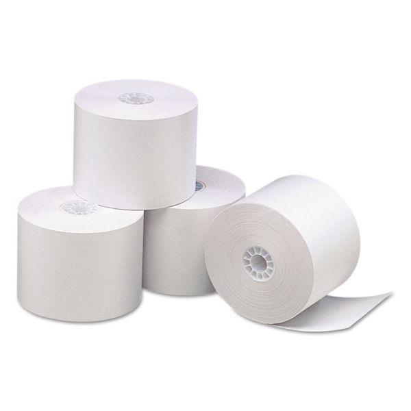 PM Company Impact Bond Paper Rolls, 44 mm x 165 ft, White, 100/Carton