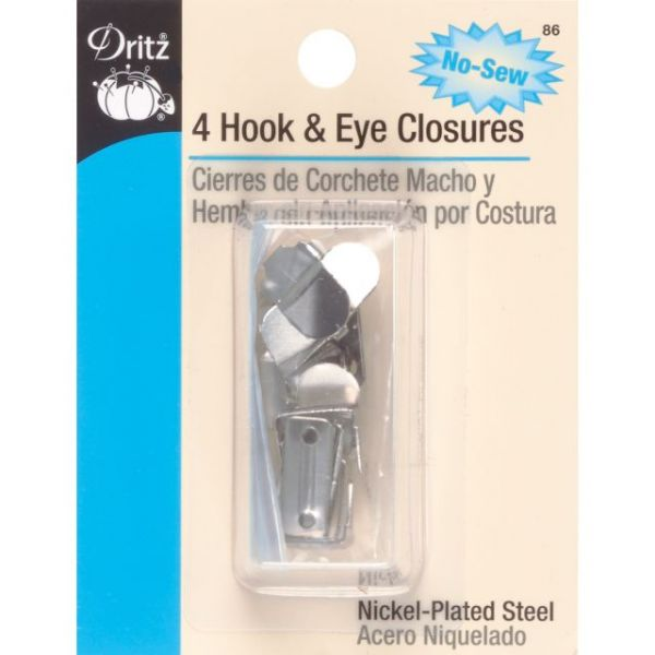 No-Sew Hooks & Eyes