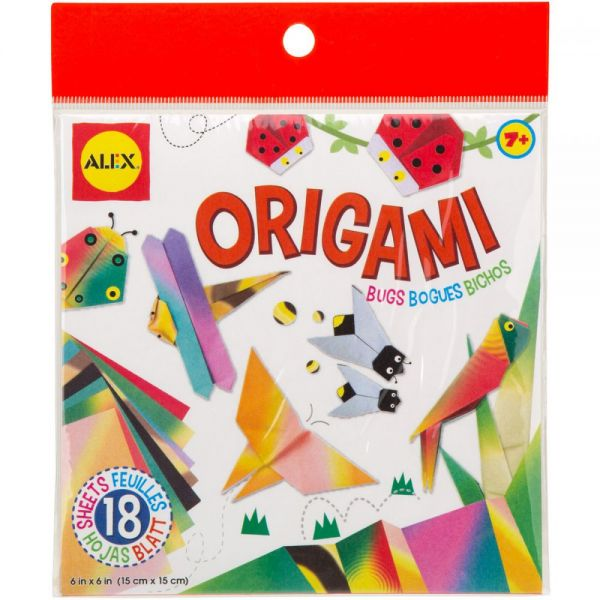ALEX Toys Origami Paper - Bugs