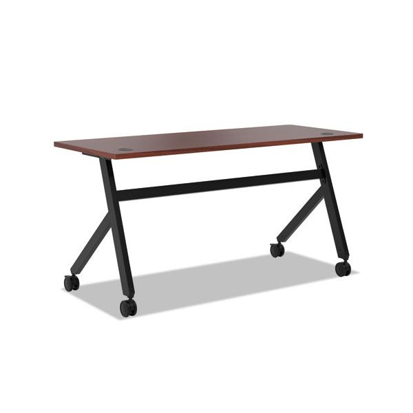 HON Multipurpose Table Fixed Base Table, 60w x 24d x 29 3/8h, Chestnut