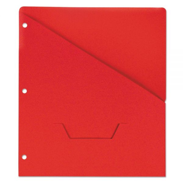 Universal Slash-Cut Binder Pockets