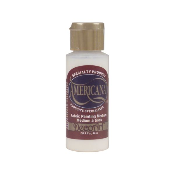 Americana Fabric Paint Medium