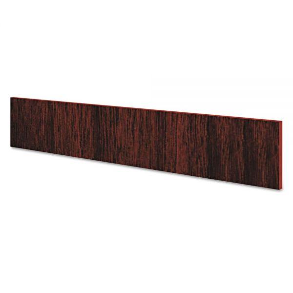 HON Preside Conference Table Panel Base Support Rail, 36 x 12, Mahogany