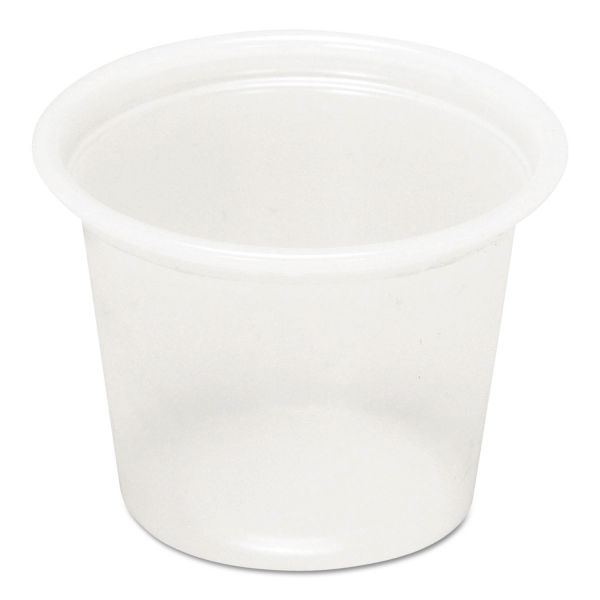 Pactiv 1 oz Plastic Portion Cups
