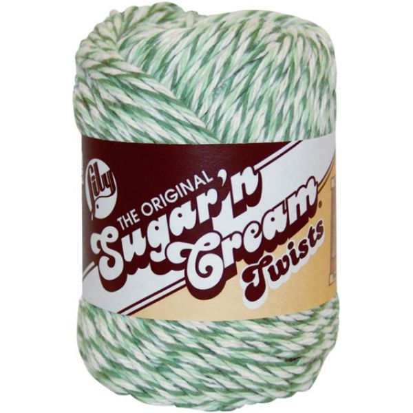 Lily Sugar'n Cream Yarn - Green