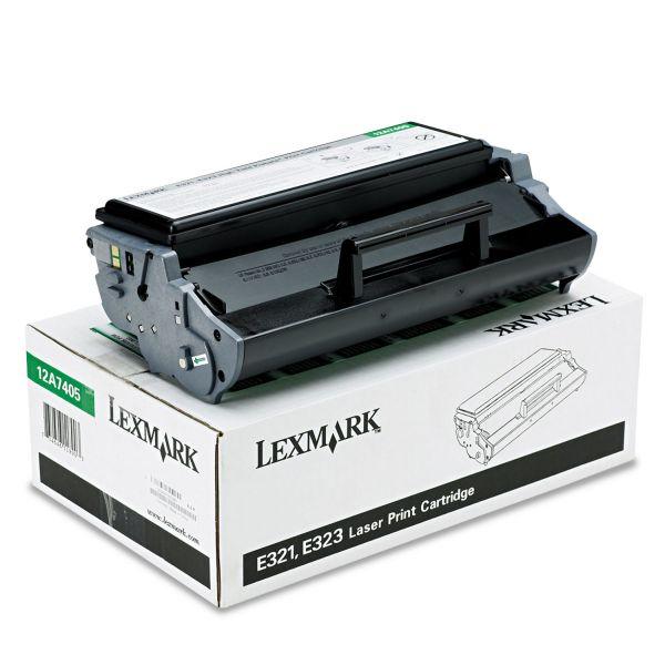 Lexmark 12A7405 Black High Yield Return Program Toner Cartridge