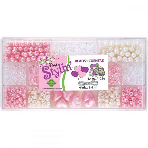 The Beadery Bead Stylin' Bubble Gum Mix Bead Box Kit