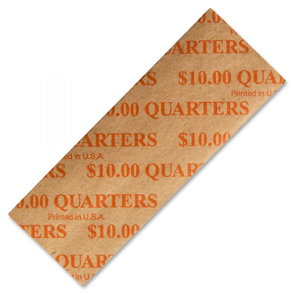 PM Company Color-coded Flat Quarter Coin Wrappers
