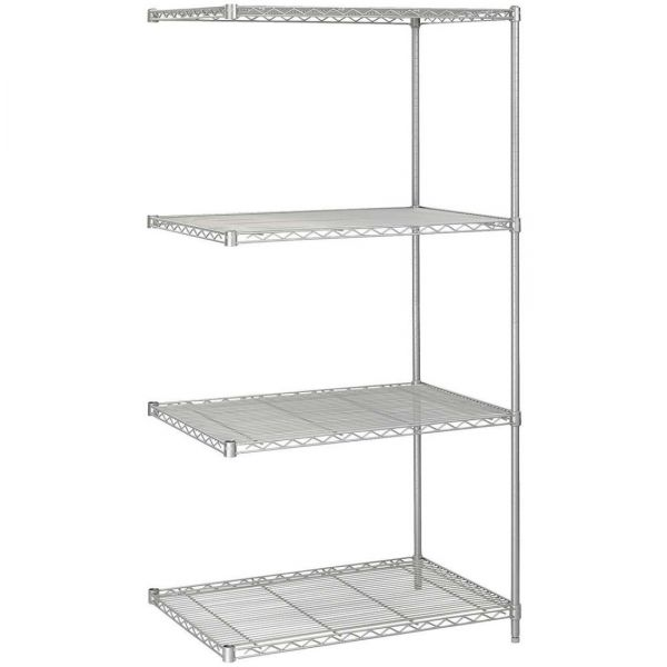 Safco 5289GR Add-On Wire Shelving