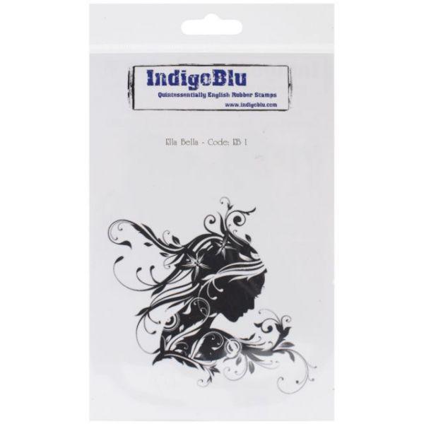 """IndigoBlu Cling Mounted Stamp 7""""X4.75"""""""