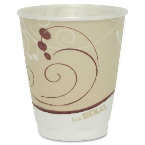 Solo Thin-Wall 8 oz Foam Cups