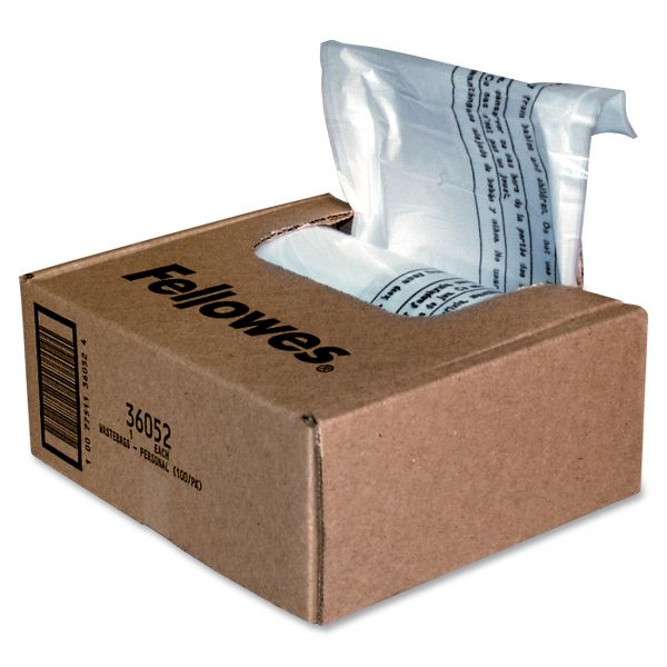Fellowes Powershred Shredder Waste Bags