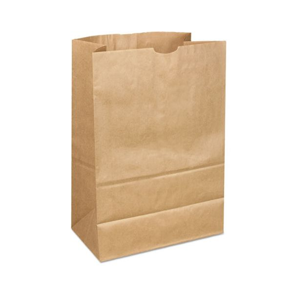 General 1/6 40/40# Brown Paper Grocery Bags