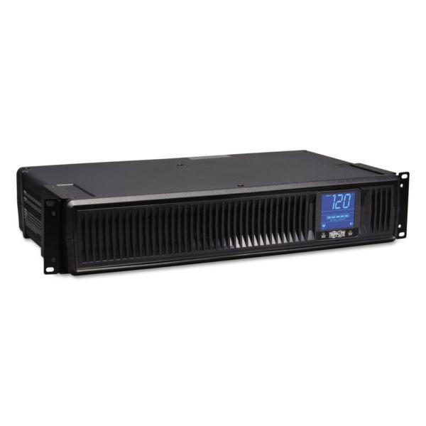 Tripp Lite SMART1500LCD Digital Smart UPS System, 8 Outlets, 1500 VA, 480 J