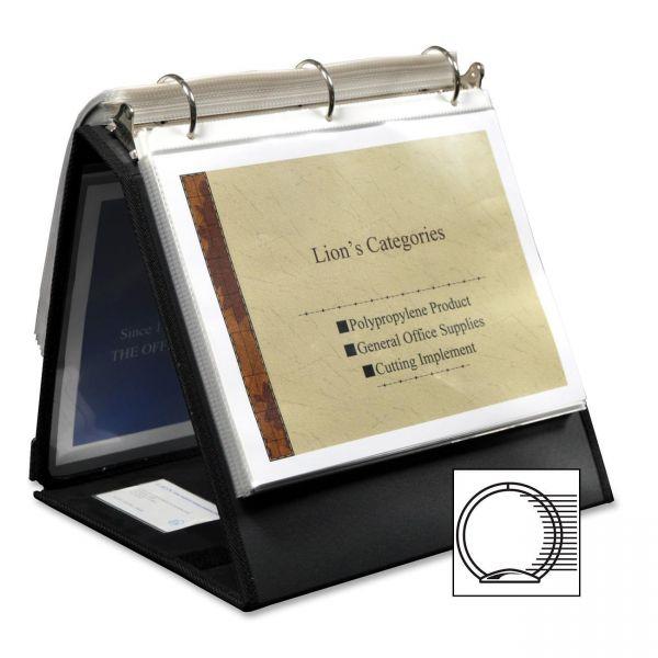 Lion Insta-Cover Ring Easel Binder