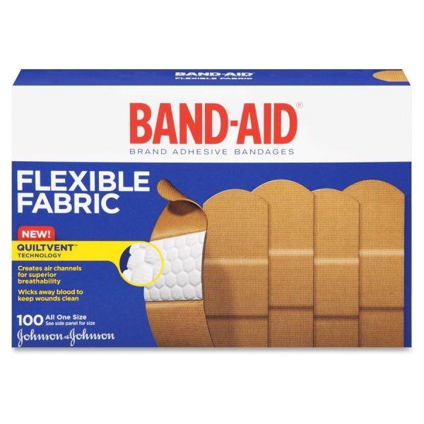 Band-Aid Flexible Fabric Adhesive Bandages