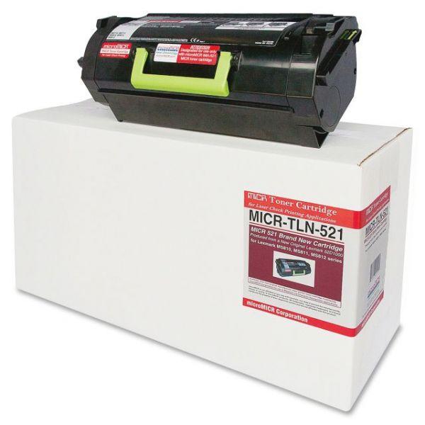 Micromicr Remanufactured Lexmark TLN521 Toner Cartridge